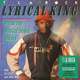 T La Rock - Lyrisk konge (fra Boogie Down Bronx) Vinyl