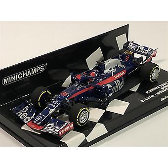 Minichamps 417190626 D. Kvyat Monaco GP 2019 Toro Rosso 1:43 Scale