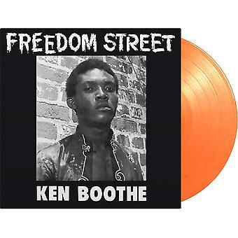 Ken Boothe - Freedom Street Orange Vinyl
