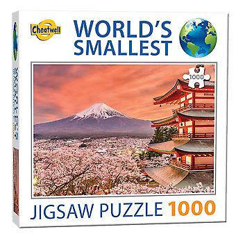 World's Smallest Jigsaw Puzzle - Mount Fuji (1000 Pieces)
