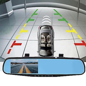 Hd 1080p Vehículo de viaje registro de datos espejo retrovisor cámara G-sensor