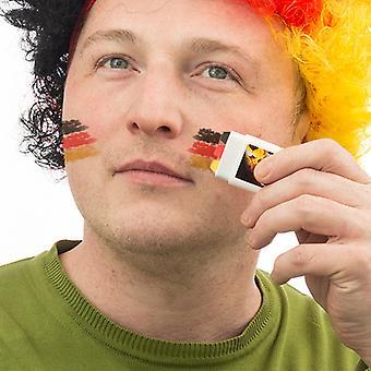 Tysk flagga ansiktsfärg