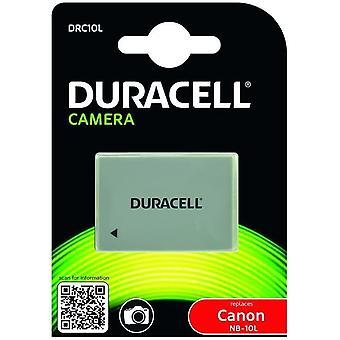 DRC10L NB-10L Akku für Canon Kamera