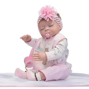 """50 ס""""מ נולד מחדש בייבי בובות דוקה בארן Leksaker Nyf?dd בובה ילדה מתנה"""