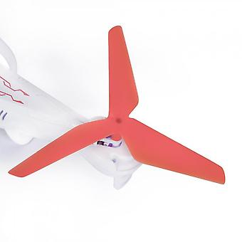 Red Plastic 2 Pcs Durable 3-blade Propellers Props Ccw Cw For Syma X5c