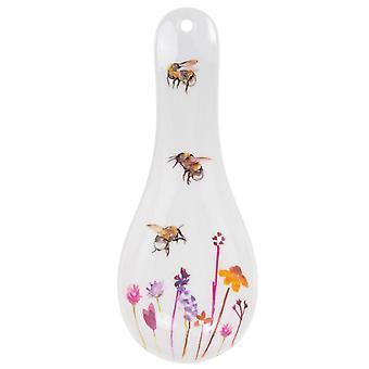 SISTE FÅ - 24cm Kjøkkenskje Hvile Blomster- og biedesign | Gavevare