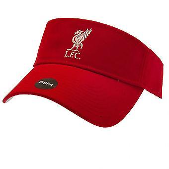 Liverpool FC Unisex Adult Crest Visor