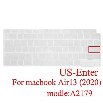 Keyboard protectors for macbook  silicone keyboard cover russian french spanish korea