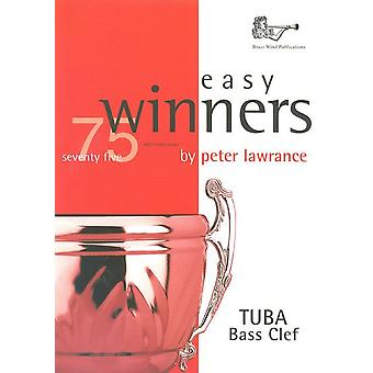 Easy Winners Tuba Bass Clef with CD (tuba/Eb Bass)