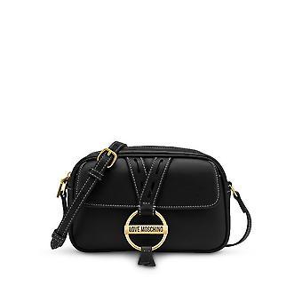 Love Moschino - Bags - Shoulder Bags - JC4201PP1DLK0-000 - Mulheres - Schwartz
