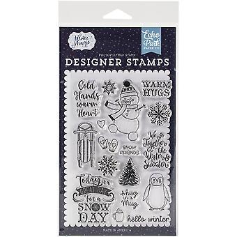 Echo Park Briefmarken - Warme Umarmungen