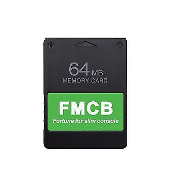 Retroscaler uusin pelikortti Fmcb ilmainen Mcboot kaikille Ps2 Slim Console vain