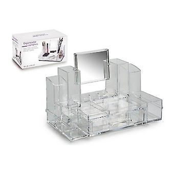 Make-up arrangør (15,5 x 19,5 x 30 cm) Plast