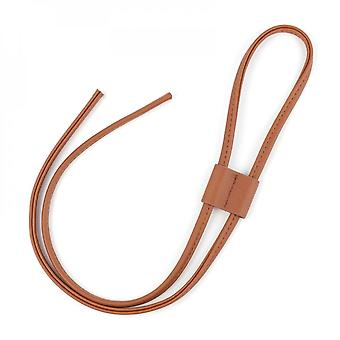 Pu Leather Drawstring Pull String Purse Strap Replacement For Bucket Bag