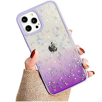 Iphone 12 Purple Silicone Shell Cover