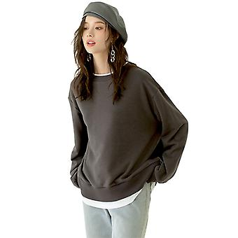 Women Loose Sweatshirt Jumper Tops Long Sleeve  Blouse Casual Pullover Sweats