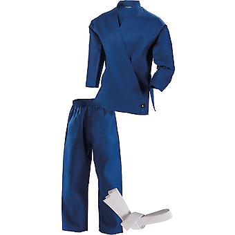 Century Kid's 7 oz. Middleweight Student Uniform with Elastic Pant - Blue