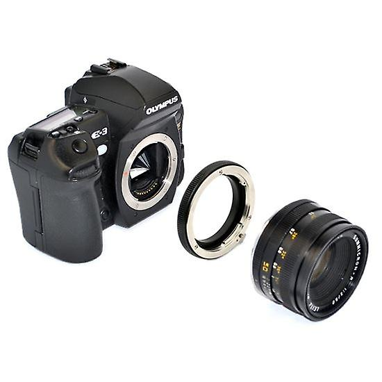 Kiwifotos Lens Mount Adapter: Allows 99% of Leica R Bayonet Mount Lenses to be used on any Four Thirds System Body
