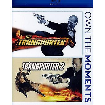 Importazione USA trasportatore/Transporter 2 [BLU-RAY]