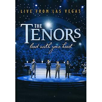 Tenors - Lead with Your Heart-Live From Las Vegas [DVD] USA import
