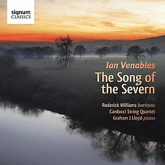 Venables / Williams / Carducci String Quartet - Song of the Severn [CD] USA import