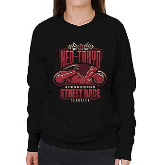 Neo Tokyo Street Racing Champion Akira Women's Sweatshirt