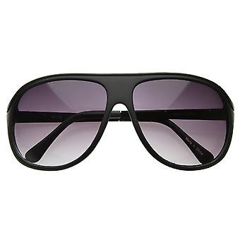 Gafas de sol de aviador plástico Retro clásico tapa plana