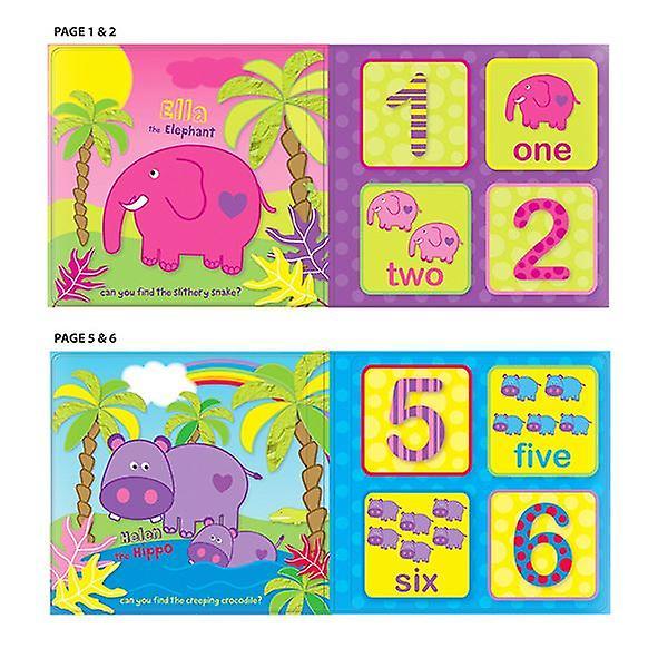 First Steps Bath Book Numbers in the Jungle! Bathtime Fun 6m+
