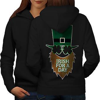日女性 BlackHoodie バックのためアイルランド |Wellcoda