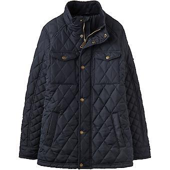 Joules jongens Stafford Classic gewatteerde Full Zip Biker-stijl jas jas