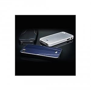 iSkin aura protective cover case iPhone 4 / 4s white brushed