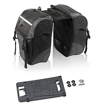 XLC double bag of carry more