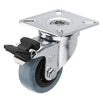 Swivel wheel 1 pc(s) Monacor GCB-50B 50 mm Load capacity (max.): 40 kg