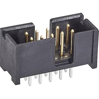 TE Connectivity Pin nauhat yhteystiedot välistys: 2.54 mm nastat määrä: 10 No. rivien: 2 1 PCs()