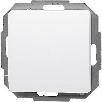 Interruptor de alavanca de inserir Kopp Paris branco 650602089