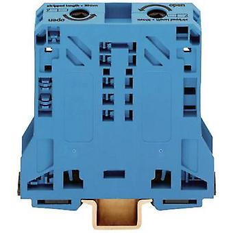 WAGO 285-154 continuïteit 20 mm Pull voorjaar configuratie: N Blue 1 PC('s)