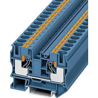 Phoenix contact PT 10 BU 3212123 continuitate număr de pini: 2 0,5 mm ² 10 mm ² albastru 1 buc (e)