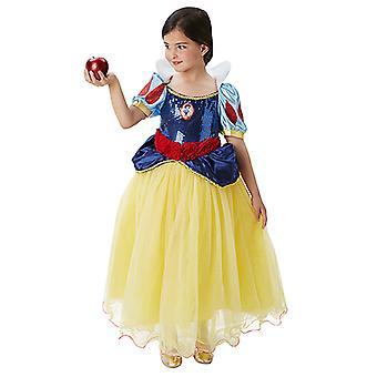 Snow White Premium Prinzessinkleid Luxus Prinzessin Kostüm Kinder