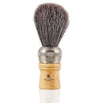 Vie-Long 4212 Extra Black Horse Hair Professional Shaving Brush