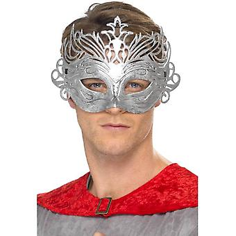 Smiffy's Columbine Silver Mask