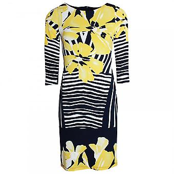 Frank Lyman Floral Print 3/4 Sleeve Shift Dress