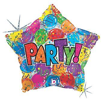 Globo de lámina Partystar 48 cm (19
