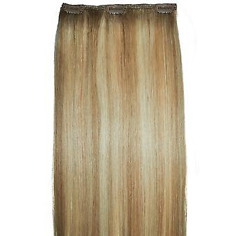 #18/22 Clip-in Hair Piece - #18/22 - Golden Blonde with Natural Light Blonde Highlights