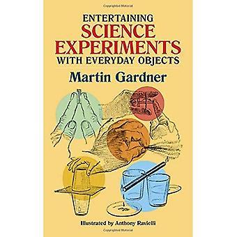 Recevoir des expériences scientifiques avec les objets du quotidien