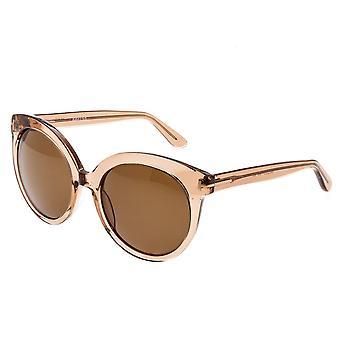 Bertha violett polarisierte Sonnenbrille - Rose/Braun