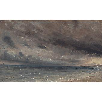 Stormy Sea, John Constable, 60x36cm