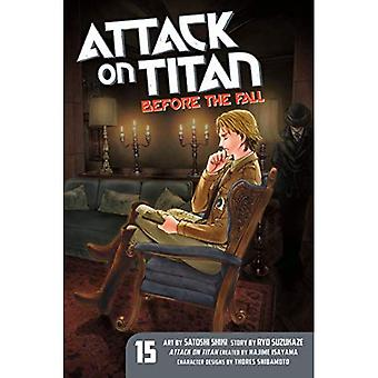 Attaque sur Titan: avant la chute de 15