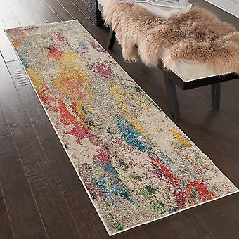 Celestial CES12 Ivory Multi  Rectangle Rugs Funky Rugs