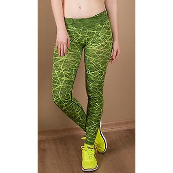 Guillaume - Womens-ayon - neon Green - Leggings Active