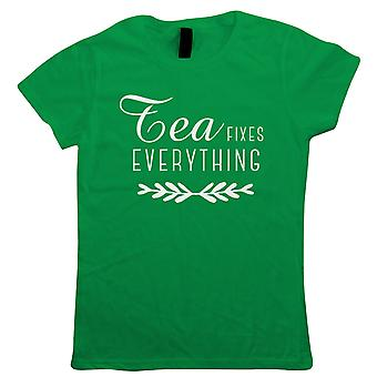 Chá fixa tudo camiseta feminina - Cultura pop presente sua mãe